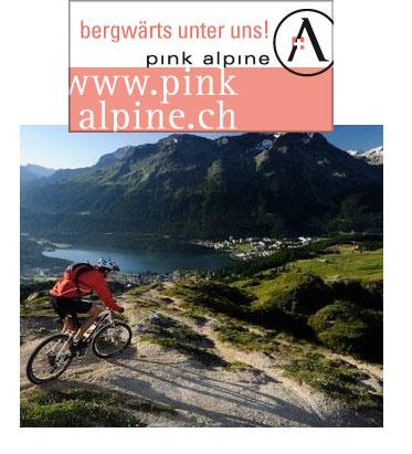 Bergwärts mit Pink Alpine